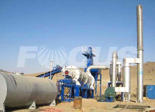 Asphalt Drum Mixing Plant FOCUS