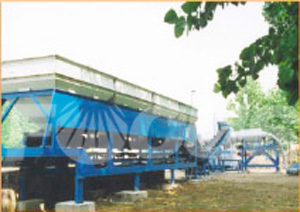 Cold Aggregate Batcher Of Asphalt Drum Mixing Plant