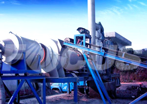 Mixing Mainframe Of Asphalt Drum Mixing Plant