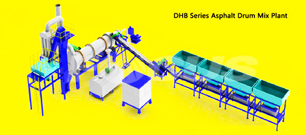 DHB Series Asphalt Drum Mixing Plant