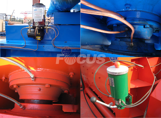 Two lubrication system