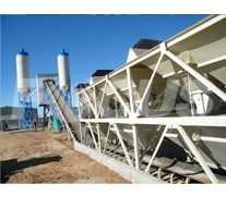 HZS60 Concrete Batching Plant Project 2