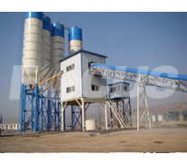 HZS60 Concrete Batching Plant Project 3