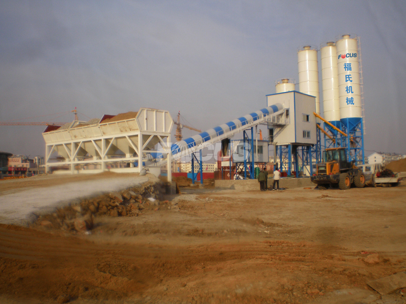 FOCUS HZS60 Concrete Batching Plant For Sale,Concrete Mixing Plant Price