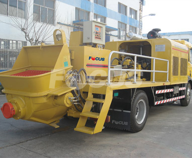 <b>Truck Mounted Stationary Pump</b>