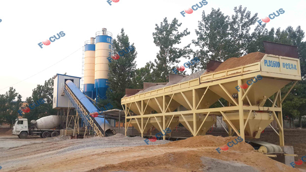 HZS60 Running As Commercial Concrete Factory Photo 1