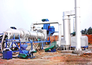 Burning System Of Asphalt Drum Mixing Plant