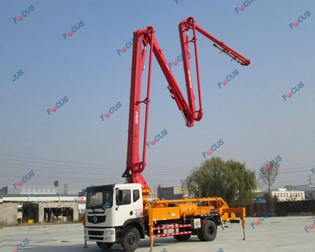 29m and 42m truck mounted concrete line pumps for sale Picture 6