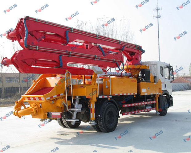 29m and 42m truck mounted concrete line pumps for sale Picture 1