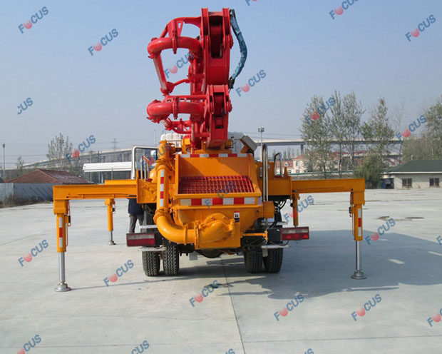 29m and 42m truck mounted concrete line pumps for sale Picture 2