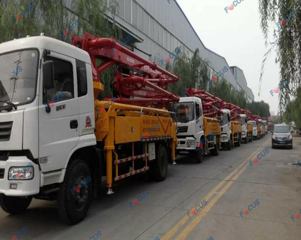 29m and 42m truck mounted concrete line pumps for sale Picture 5
